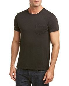 Ralph Lauren Polo Men's Natural Cotton Jersey Pocket T-Shirt (Color Polo Black) *** Click image for more details. (This is an affiliate link) #PoloTShirt