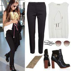 Selena Gomez arriving at Toronto Airport, September 7th, 2014 - photo: selgomez-news