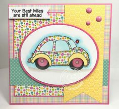 """High Hopes Rubber Stamps """"Daisy"""" by CheriB Designs"""