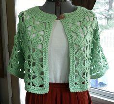 Plus Sizes many colors Crochet Jacket by CrazyCrochetCatLadys