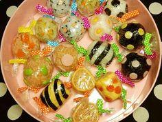 運動会のお弁当に♥キャンディーおにぎりの画像