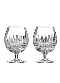 Waterford Lismore Diamond Brandy Gl Set Of 2 Home Dining Entertaining Drinkware Tail Gles Bloomingdale S