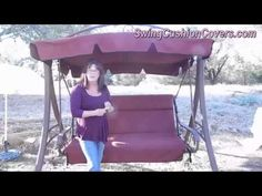 Costco Patio Swing Canopy And Cushion Replacement   YouTube