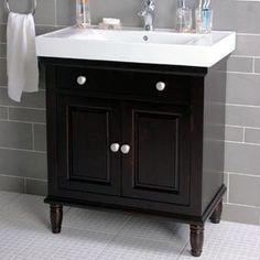 Love vanity for upstairs bathroom..