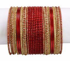 The Best Indian Fashion New Bangle Chudi Set Collection Ethnic Wedding Dulha Chudi Set Sales Of Quality Assurance Engagement & Wedding Bridal & Wedding Party Jewelry
