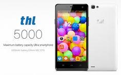 THL-5000 cea mai mare baterie