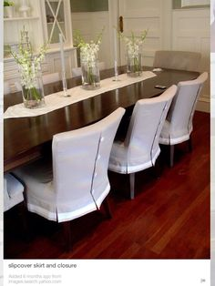 I suspect there are lots of homes with dining chairs like this and I suspect many are in a similar condition... At my customer's reque...