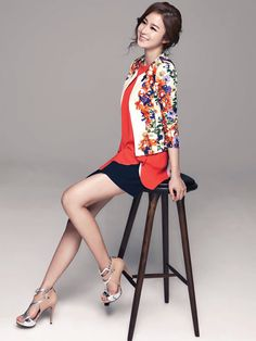 Kim Tae Hee For ISABEY de PARIS' SS13 Campaign | Couch Kimchi