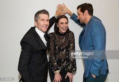 News Photo : Actors Leland Orser, Michelle Forbes and Richard...