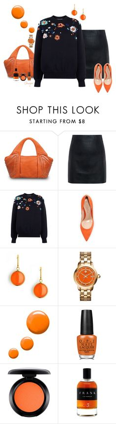 """Fall Fun!"" by gemique ❤ liked on Polyvore featuring GRETCHEN, McQ by Alexander McQueen, Victoria, Victoria Beckham, Gianvito Rossi, Syna, Tory Burch, Topshop, OPI, MAC Cosmetics and Paul Frank"