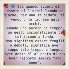"it Aver risposto sempre ""sto bene"". Favorite Quotes, Best Quotes, Italian Quotes, Feelings And Emotions, Meaning Of Life, Jokes Quotes, Qoutes, Zodiac Quotes, Nostalgia"