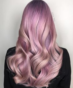 ♚ Color it up, braid it down, wear your hair like a crown ♚ Vibrant Hair Colors, Ombre Hair Color, Hair Color Balayage, Hair Highlights, Colorful Hair, Guy Tang, Pastel Hair, Pink Hair, Pastel Pink