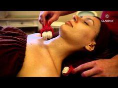 Clarena Wave Roller Massage - Liftujący masaż twarzy, szyi i dekoltu - YouTube