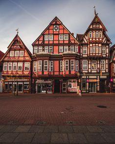 Sommerhausen, altes Eichamt Fachwerkhäuser, Gebäude und