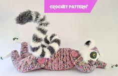 Lunar the Lemur life-sized crochet pattern | Etsy