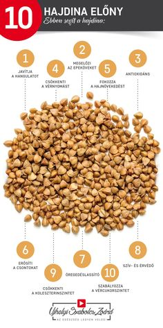 A hajdina nem tartalmaz glutént, így fogyasztható gluténérzékenység, májbetegség, magas vérnyomás és cukorbetegség esetén. Bőségesen van benne E-, B1-, B2- és B1-vitamin, élelmi rostok, aminosavak, szénhidrátok, flavonoidok, rutin, fitovegyületek, cink, kalcium, magnézium, vas és réz is. A hajdinát régóta alkalmazzák pl. székrekedés ellen, magas vérnyomás csökkentésére, vagy a Candida-fertőzés kezelésében is. Cseréld le te is a gabona tartalmú ételköreteket hajdinára!  Az egészség legyen…