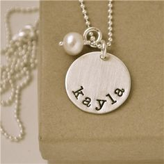 love stamped jewelry