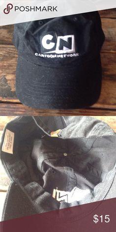 Black Cartoon Network cap New! Cartoon Network black baseball cap! 100 % cotton! cartoon network Accessories Hats