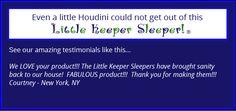Sleeper Keepers- Pajamas that zip in the back