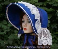 Fashion bonnets during the Civil War were not meant to shade the face...look at the originals. If you want shade, get a slated or corded sunbonnet.
