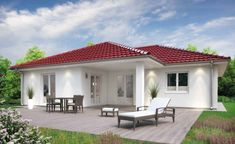 One-storey house design ideas - One-storey house design ideas (From Amy Buxton) Informations About One-storey house design ideas Pin - Home Room Design, House Design, Interior Paint Colors For Living Room, One Storey House, Modern Mediterranean Homes, Modern Store, Inside A House, Storey Homes, Facade Design