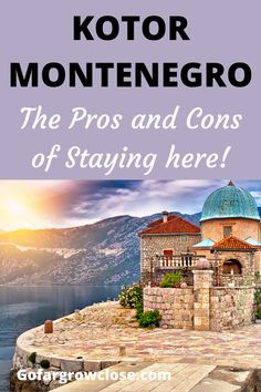 We loved staying in Kotor when we visited Montenegro. Here are the reasons why Kotor was great but it might not be the best place for everyone. Europe Travel Guide, Backpacking Europe, Travel Destinations, Europe Photos, Travel Photos, Scenic Photography, Night Photography, Landscape Photography, Old Town Hotels