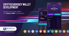 Shamlatech is a leading Crypto wallet development company offering various cryptocurrency wallet solutions like multi cryptocurrency wallet App Development Companies, Cryptocurrency, Product Launch, Wallet, Pocket Wallet, Diy Wallet, Purses, Purse