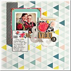 September 2013 HIP KIT layout created by our DT member, Bethany Crowell. To purchase our HIP KITS or to join our HIP KIT CLUB to have a brand  new HIP KIT delivered right to your door each month - visit our website & online store at WWW.HIPKITCLUB.COM .  Enjoy! Hip Kit Club, September 2013, You And I, Layouts, Stencils, Join, Scrapbooking, Website, Create