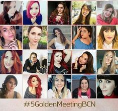 My Beauty Colors: 5º GOLDEN MEETING BARCELONA: MI PRIMER EVENTO BLOG...