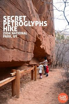 Secret Petroglyphs Hike | Zion National Park | The Salt Project | Things to do in Utah with kids