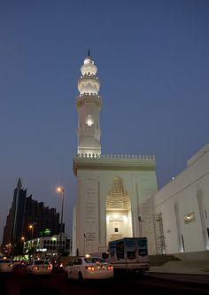 Mosque In Jeddah, Saudi Arabia