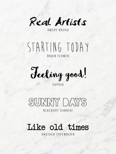 Favourite Fre Fonts #1 - http://blogmeaway.nl/favourite-free-fonts-1/