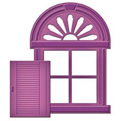 Die D-Lites Shuttered Window Etched Dies