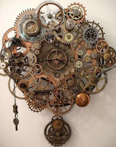Some fairly nifty clocks with a steampunk influence or origin.