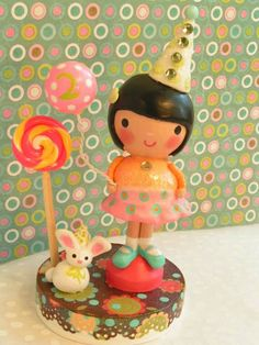 A Sweetiepiecaketopper Woodland Birthday by SweetiePieCaketopper, $105.00