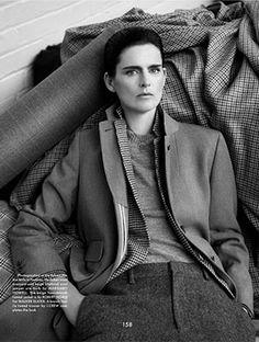 The Gentlewoman Editorial FW 2013-14 - Stella Tennant by Benjamin Alexander Huseby - FASHION INDUSTREE