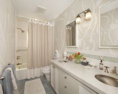 Mosaic Borders In Bathrooms Design, Pictures, Remodel, Decor and Ideas - page 17