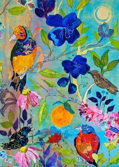 Elizabeth St.Hilaire Nelson, inspiration to summer print