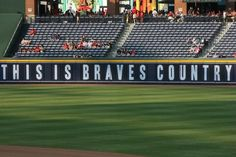 Braves country.