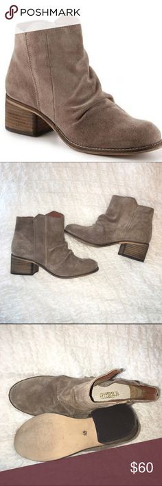 Sychelles 'Hawthorn' booties, worn once!! Sychelles 'Hawthorn' booties, worn once!Beige-grey, slouchy with about a 2 inch heel! So cute with boyfriend jeans... They are a tad too small for me & I don't have the receipt. Shoes Ankle Boots & Booties