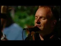 Sting - All This Time  My favorite Sting song of all time. Performed in Italy the day after 9/11...powerful !