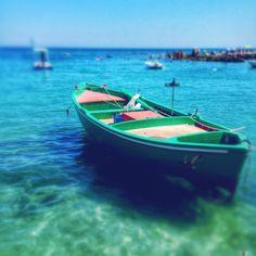 Boat at S.Vito beach, Polignano a Mare