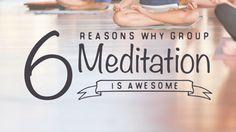 Meditating together? Sounds like good vibes all around.