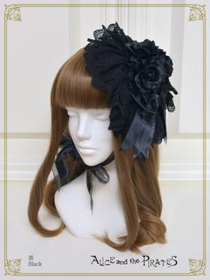Head Piece, Lolita Fashion, Cosplay Costumes, Pirates, Wigs, Gothic, Bright, Stars, Moose