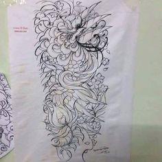 Japanese Phoenix Tattoo, Phoenix Art, Japanese Culture, Asian Style, Tatting, Body Art, Oriental, Tattoo Designs, Ink