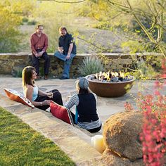 """Discover more information on """"fire pit flagstone"""". Take a look at our internet site. Small Fire Pit, Diy Fire Pit, Fire Pit Backyard, Large Backyard, Backyard Retreat, Diy Pergola, Gazebo, Pergola Ideas, Landscaping Ideas"""