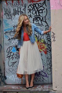 Trend Addict : Spring 2014 Trending: Tulle Skirts!