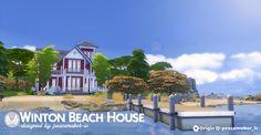 Winton Beach House at Simsational Designs • Sims 4 Updates