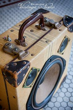 Suitcase Speakers