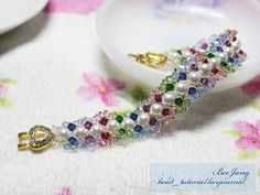 Swarovski Beaded Bracelets | ... swarovski bicone crystal 4 mm swarovski pearl 6 mm or swarovski round
